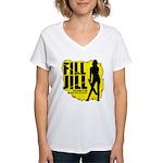 Fill Jill Women's V-Neck T-Shirt
