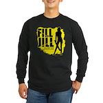 Fill Jill Long Sleeve Dark T-Shirt