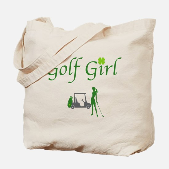 Lucky Golf Girl - Tote Bag