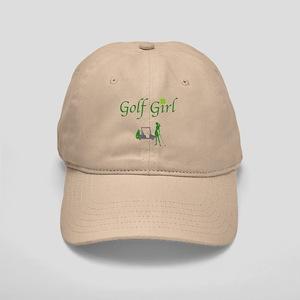 Lucky Golf Girl - Baseball Hat
