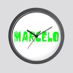 Marcelo Faded (Green) Wall Clock