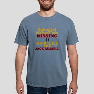 Husband & Jack Russell Terrier Missing T-Shirt