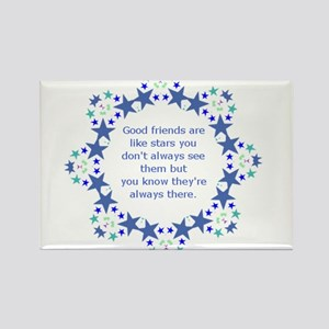 Friends are Like Stars Friendship Quote s Magnets