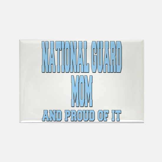 National Guard Mom Proud Rectangle Magnet