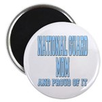 National Guard Mom Proud Magnet