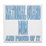 National Guard Mom Proud Tile Coaster