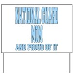 National Guard Mom Proud Yard Sign