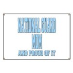 National Guard Mom Proud Banner