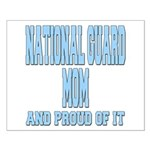 National Guard Mom Proud Small Poster