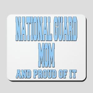 National Guard Mom Proud Mousepad