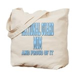 National Guard Mom Proud Tote Bag