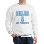National Guard Mom Proud Sweatshirt