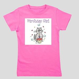 Birthday Girl Cat - T-Shirt