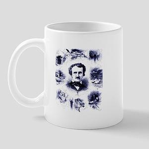 Poe and His Works Mug