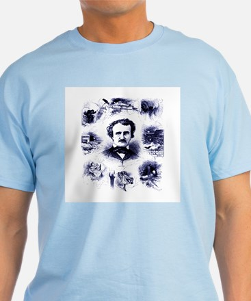 Poe and His Works T-Shirt