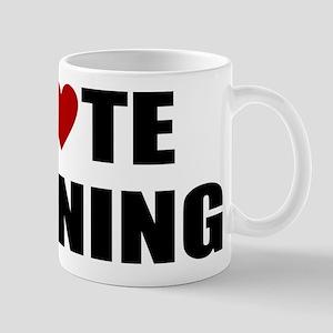 I hate running Mugs