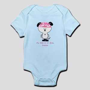 My uncle is an army veteran Infant Bodysuit