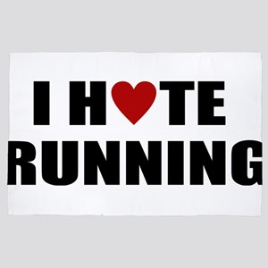 I hate running 4' x 6' Rug