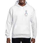 CDH Awareness Ribbon Hooded Sweatshirt