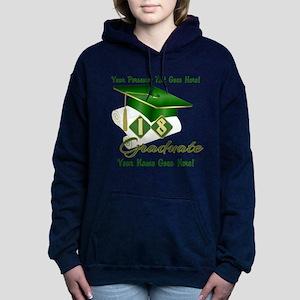 Green Cap and Diploma Sweatshirt