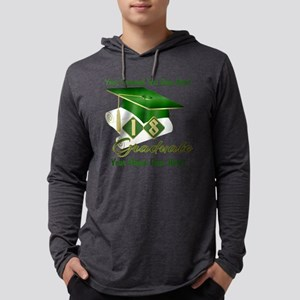 Green Cap and Diploma Long Sleeve T-Shirt