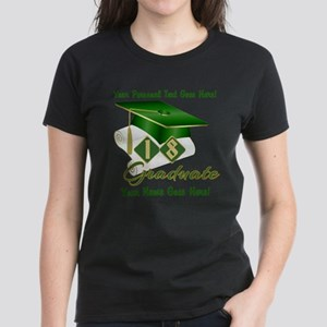 Green Cap and Diploma T-Shirt