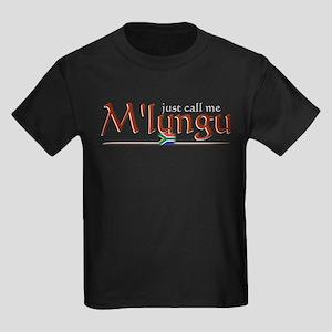 Just Call Me M'lungu - Kids Dark T-Shirt