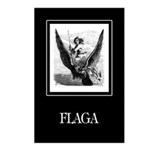 Flagas Postcards (Package of 8)