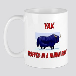 Yak trapped in a human body Mug