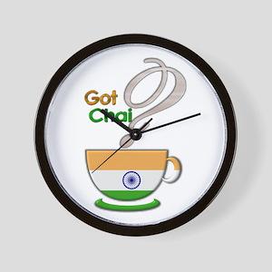 Got Chai? Indian - Wall Clock