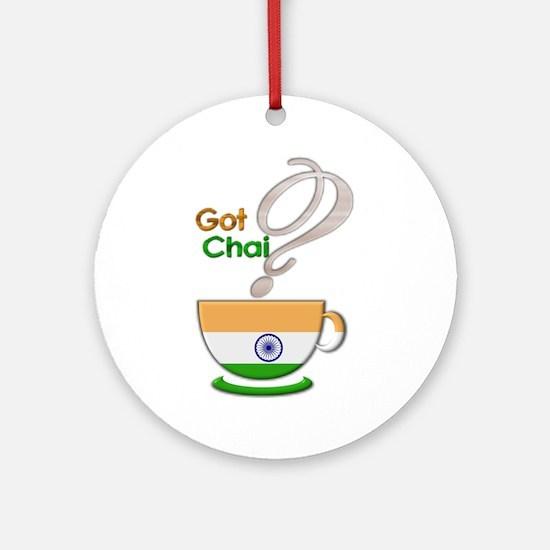 Got Chai? Indian - Ornament (Round)