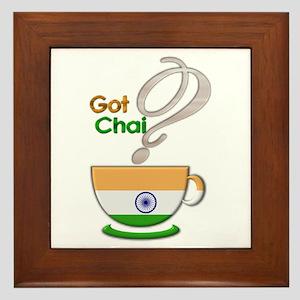 Got Chai? Indian - Framed Tile