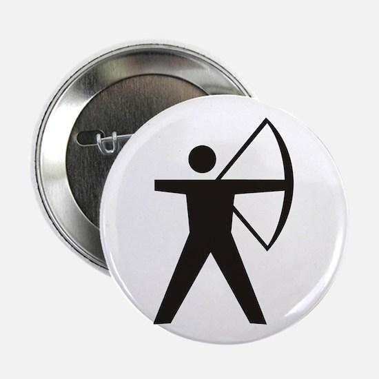 """Archer Silhoutte 2.25"""" Button"""