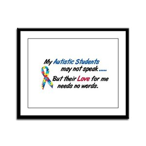 Needs No Words 1 (Students) Framed Panel Print