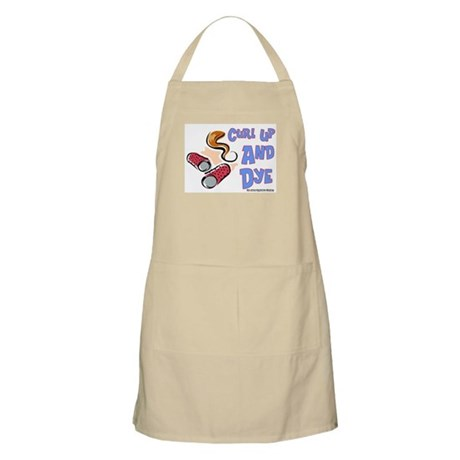 Curl Up And Dye Salon BBQ Apron