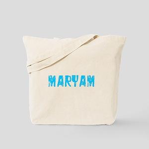 Maryam Faded (Blue) Tote Bag