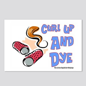 Curl Up And Dye Salon Postcards (Package of 8)