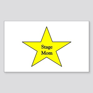 Stage Mom Rectangle Sticker