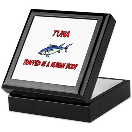 Tuna trapped in a human body Keepsake Box