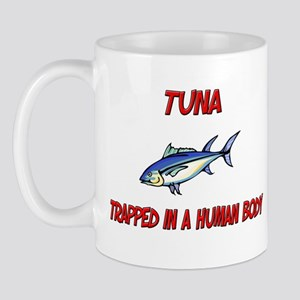 Tuna trapped in a human body Mug