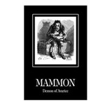 Mammon Postcards (Package of 8)