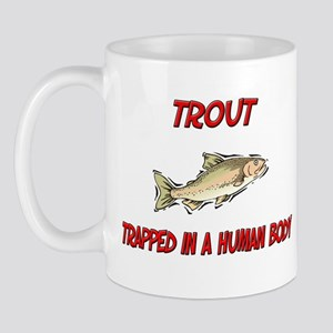 Trout trapped in a human body Mug