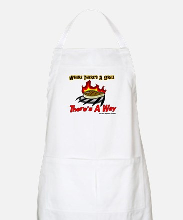 Where there's a Grill There's BBQ Apron