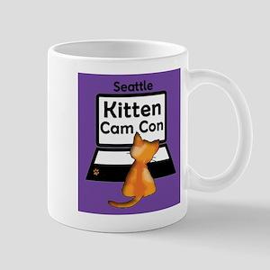 Kitten Cam Con Mugs