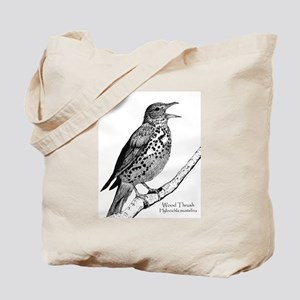 Owl/Thrush Tote Bag!