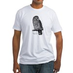 Barred Owl Fitted T-Shirt!