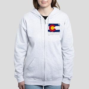 Denver Grunge Flag Sweatshirt