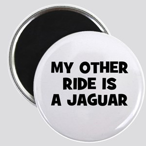 my other ride is a Jaguar Magnet