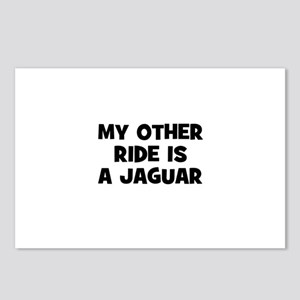 my other ride is a Jaguar Postcards (Package of 8)