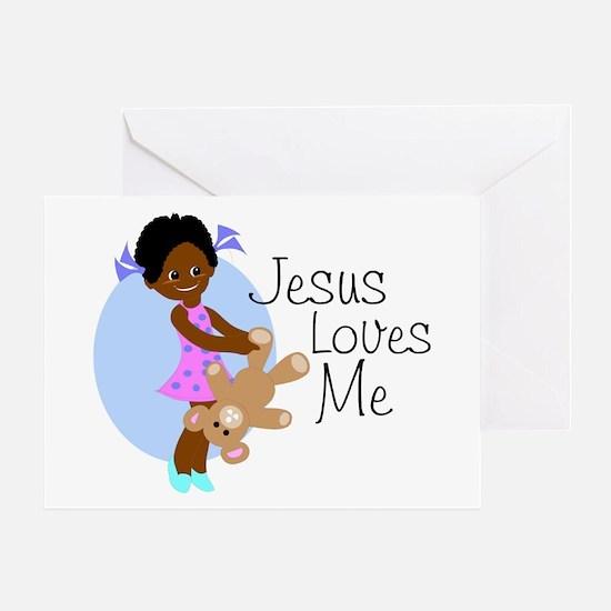 Jesus Loves Me Greeting Card